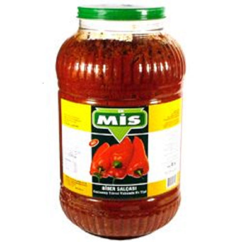 Mis Biber Salcasi Aci / Hot Pepper Paste 4200 gr