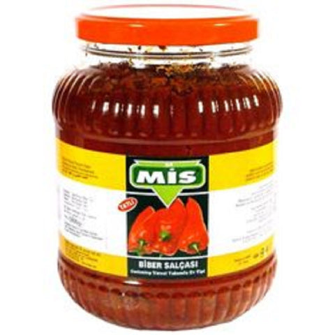 Mis Biber Salcasi Aci / Pepper Paste Hot 1900 gr