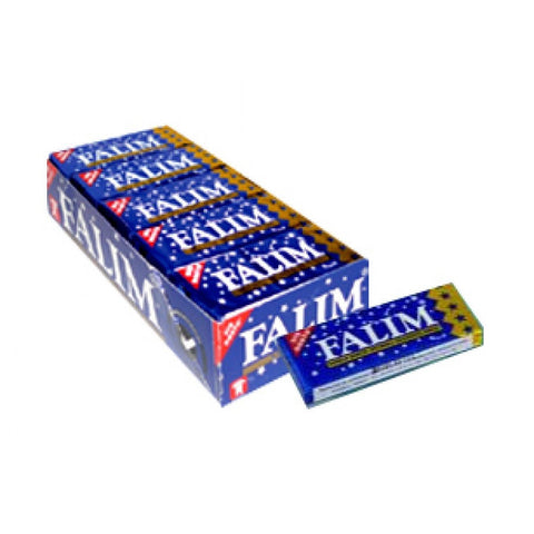 Sugarless Falim Plain Gum (20 Pack (100 Pieces))