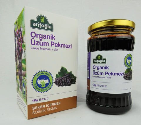 Arifoglu Organic and Pure Molasses Series