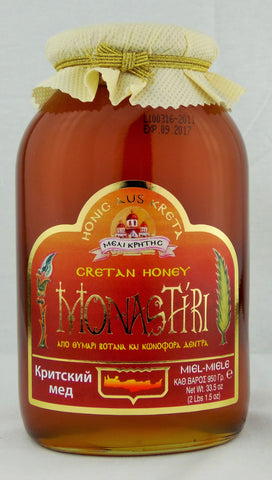 Dinas Greek Monastiri Wilflower and Thyme Honey 32 Oz