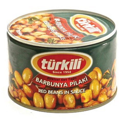 Turkili Red Beans In Sauce - Barbunya Pilaki - 425 gr