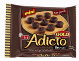 Eti Adicto Mini Gold Browni - Brownie Adicto Mini Sizes  9 Pcs 180 Gr (  6.3 Oz )