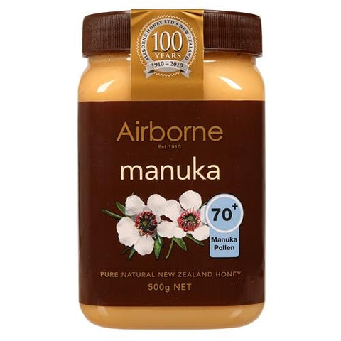 Airborne New Zealand Manuka 70+ Honey 500 Gr ( 17.6 Oz )