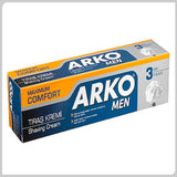 Arko Men Shaving Cream 100 gr - Maximum Comfort - Arko Tras Kremi Uc Etki