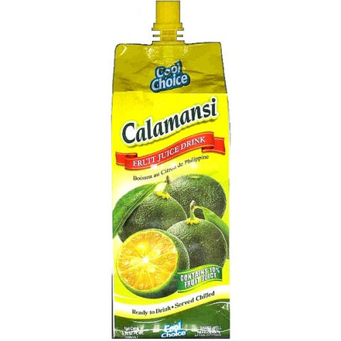 Cool Taste Calamansi Fruit Juice Drink Philippine Lemon 500 ML ( 16.9 Oz )