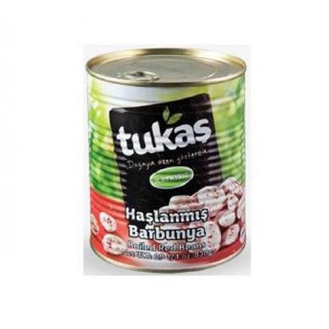 Tukas Haslanmis Barbunya / Boiled Red (Pinto) Beans - 830 gr / Can