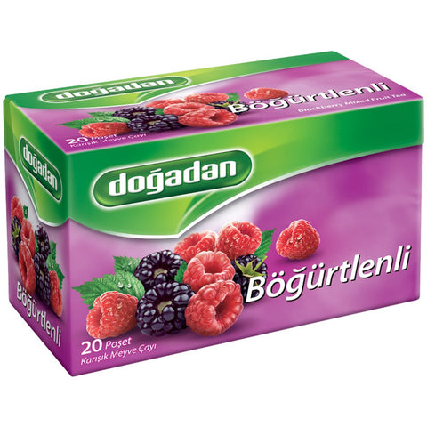 Dogadan Bogurtlenli Meyve Cayi 20'Li - Blackberry Fruit Tea 20 Tea Bags 40 Gr ( 1.4 Oz )