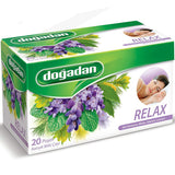 Dogadan Relax Karisik Bitki Cayi 20'Li - Relax Mixed Herbal Tea  20 Tea Bags 40 Gr ( 1.4 Oz )