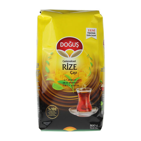 Dogus Geleneksel Rize Cayi - Traditional Rize Black Tea 500 Gr ( 17.6 Oz )