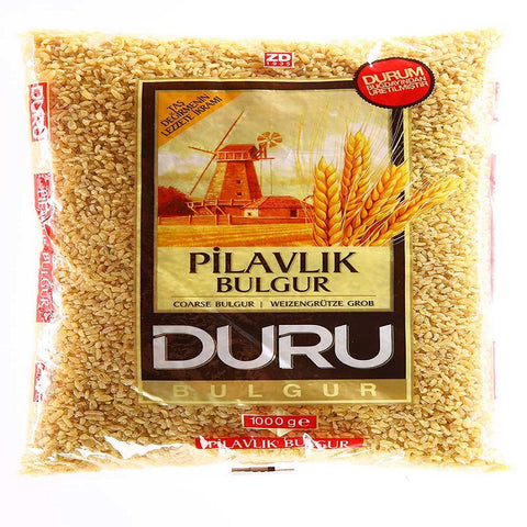 Duru Pilavlik Bulgur / Coarse Bulgur for Pilaf (Cracked Wheat) - 1 kg