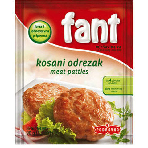 Fant Seasoning Mix for Meat Patties, 3.2oz
