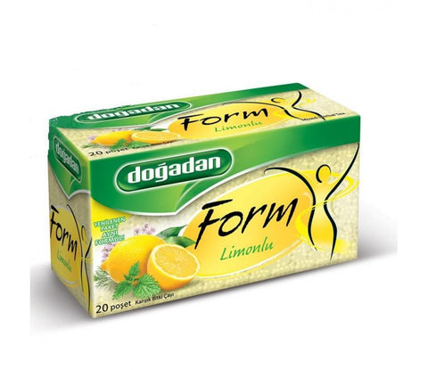 Dogadan Form Cayi Limonlu 20'Li - Form Tea With Lemon  20 Tea Bags 40 Gr ( 1.4 Oz )