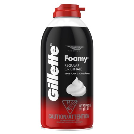 Gillette Normal Tras Kopugu - Foamy Shaving Cream Regular 311 Gr ( 11 Oz )