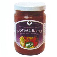 Sambal Bajak (Bajak Chilli Mild) - 9.5oz (Pack of 3)