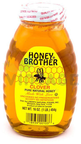 Honey Brother Yonca Bali - Clover Honey 454 Gr ( 1 Lb )