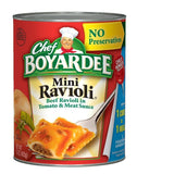 Chef Boyardee Mini Beef Ravioli 15 oz