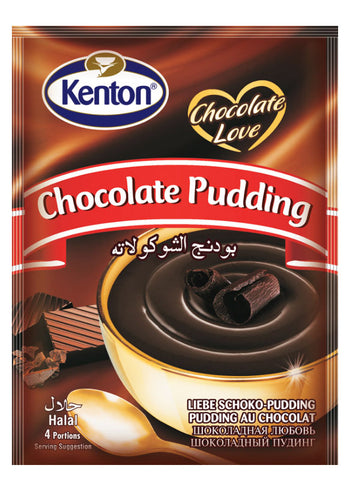 Kenton Cikolatali Puding - Chocolate Pudding 100 Gr ( 3.5 Oz )