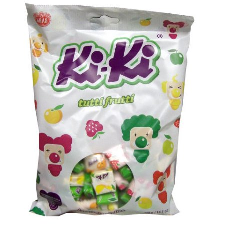 Kiki Tutti Frutti Mix Toffee 400 Gr ( 14.1 Oz )