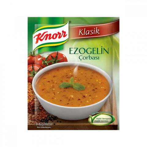 Knorr Ezogelin Corba / Traditional Turkish Soup with Red Lentil - 65 gr