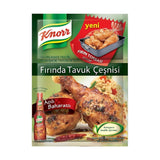 Knorr Firinda Tavuk Cesni (Acili & Baharatli) / Chicken Seasonings, Spicy- 34 gr