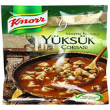 Knorr Yoresel YUKSUK Corbasi / Traditional Turkish Soup - 86 gr