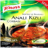 Knorr Yoresel ANALI KIZLI Corba / Turkish Traditional Soup - 92 gr