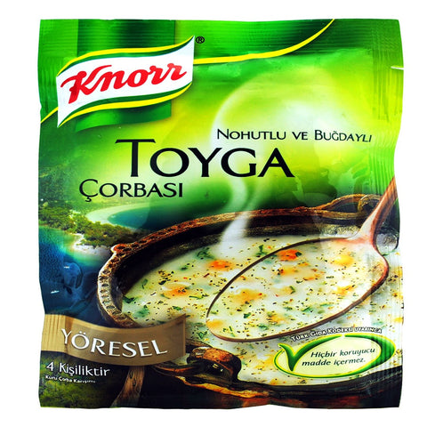 Knorr Yoresel TOYGA Corbasi / Traditional Turkish Soup - 110 gr