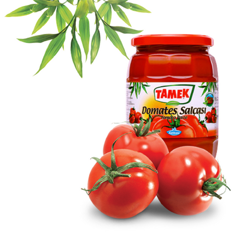 Tamek Biber Salcasi ACILI / Pepper Paste HOT - 720 ml