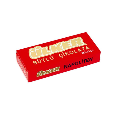 Ulker Napoliten Sutlu Cikolata - Mini Milk Chocolates 33 Gr ( 1.1 Oz )
