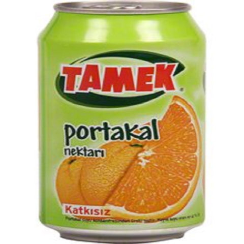 Tamek Orange Juice Can - Portakal Suyu 330 ml