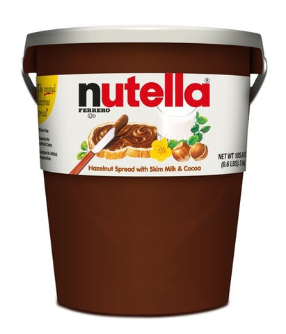 Nutella Hazelnut Spra With Skim Milk & Cocoa 3 Kg ( 6.6 Lbs )