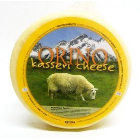 Orino Kasseri Greek Cheese avg 2.4 lbs