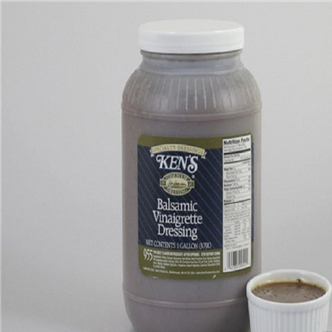Ken's Balsamic Vinaigrette Dressing 1 Gallon (4 Pack Case)