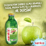 Sarikiz Elmali Maden Suyu - Mineral Water With Apple 6x250 ML ( 8.8 Oz )