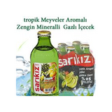 Sarikiz Tropik Meyveli Maden Suyu - Mineral Water With Tropical Fruits 6x250 ML ( 8.8 Oz )
