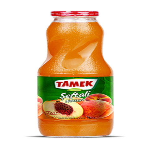 Tamek Seftali Suyu 1lt Bottle - Peach Juice