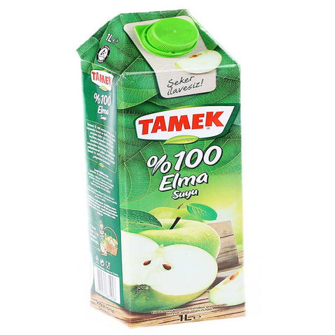 Tamek 1lt Elma Suyu - %100 Apple Juice