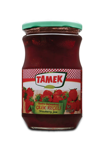 Tamek Cilek Receli - Strawberry Jam 800 Gr ( 1.76 Lbs )