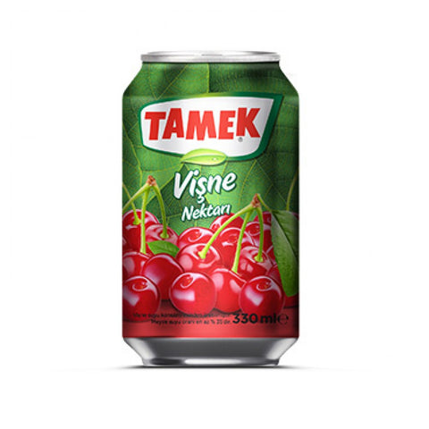Tamek Visne Suyu - Sour Cherry Fruit Juice 330 Ml ( 11 Fl Oz )