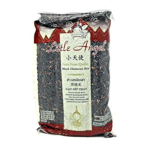 Little Angel Thailand Black Glutinous Rice 2 Kg ( 4.4 Lb )