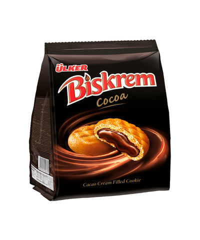 Ulker Biskrem Kakaolu Biskuvi - Cookie With Cocoa Cream Filling 205 Gr ( 7.2 Oz )