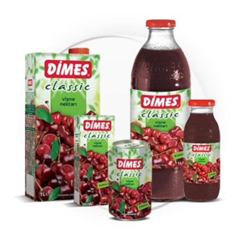 Dimes Visne Nektari 330ml Can - Sour Cherry Juice