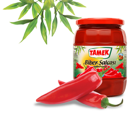 Tamek Biber Salcasi ACISIZ / Pepper Paste MILD 720ml