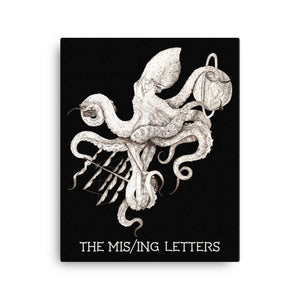 The Missing Letters Canvas Print
