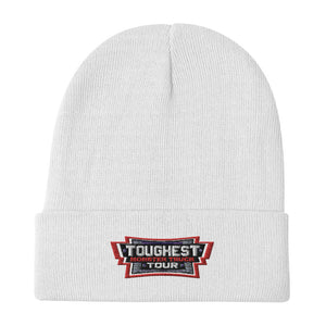 Toughest Monster Truck Tour Embroidered Beanie