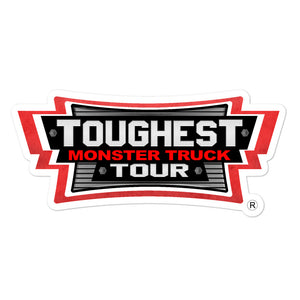 Toughest Monster Truck Tour Sticker