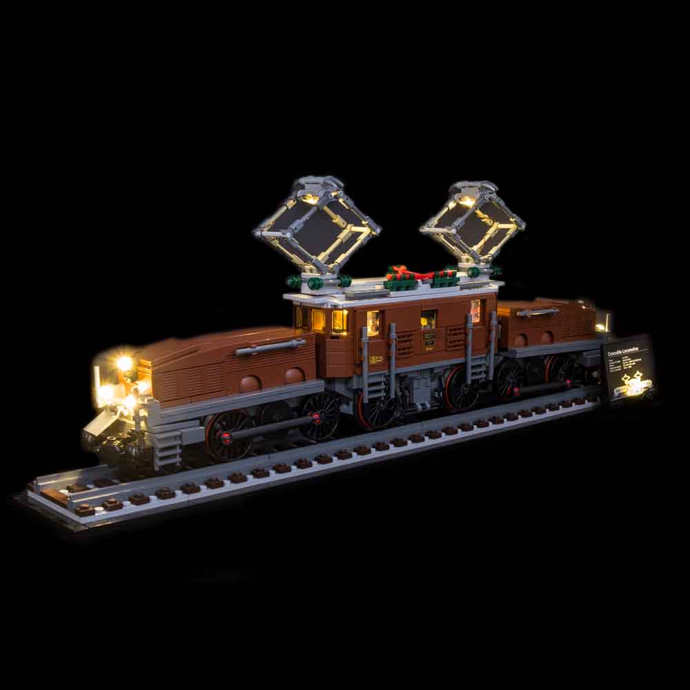 LEGO Crocodile Locomotive #10277 Light Kit