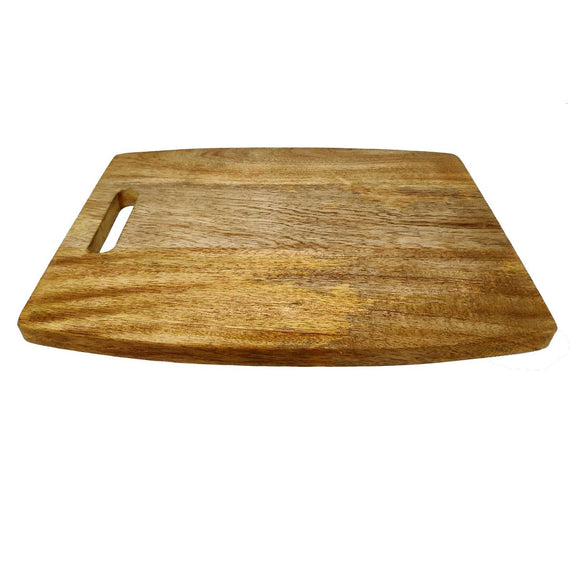 Sahya Dale Mango Wood Cutting Board with Handle Big 37cm x 27cm x 2cm- Best Kitchen Reversible Chopping Board for Meat Cheese and Vegetables