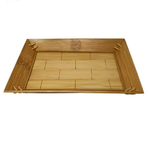 Sahya Dale Bamboo Serving Tray (28cm x 20cm)- Tea- Coffee- Organic - Hand Made - Made from Bamboo